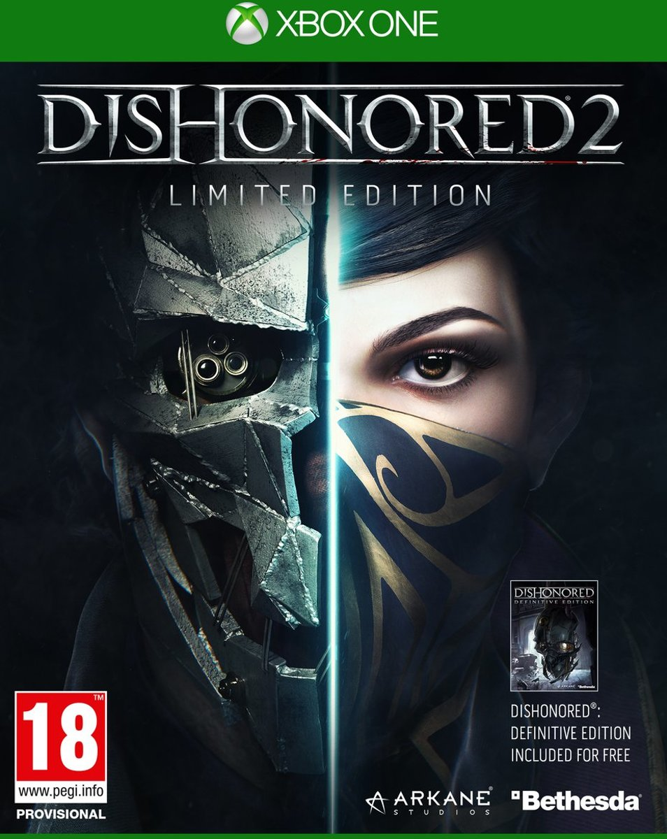 Dishonored 2 - Limited Edition Xbox One