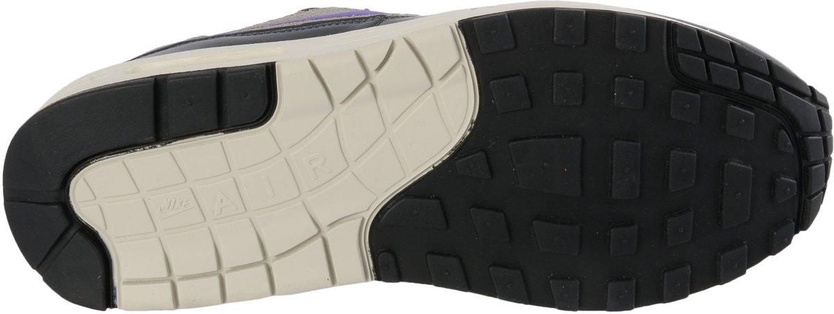 Nike Air Max 1 Zwart Paars Grijs