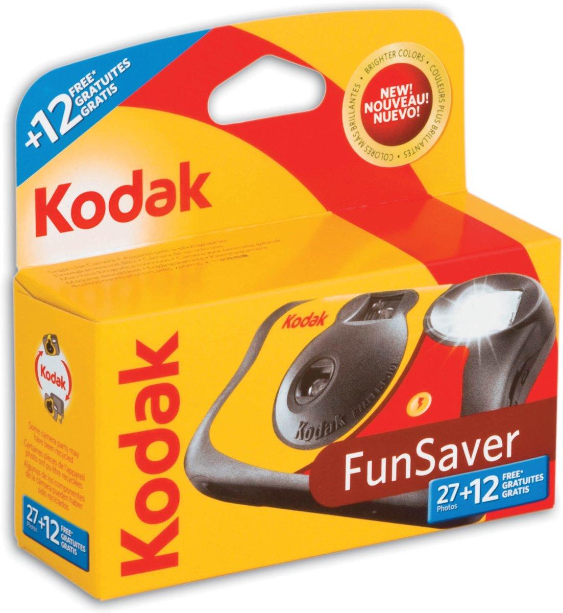 Kodak - Wegwerpcamera met flitser - 27+12 foto's kopen