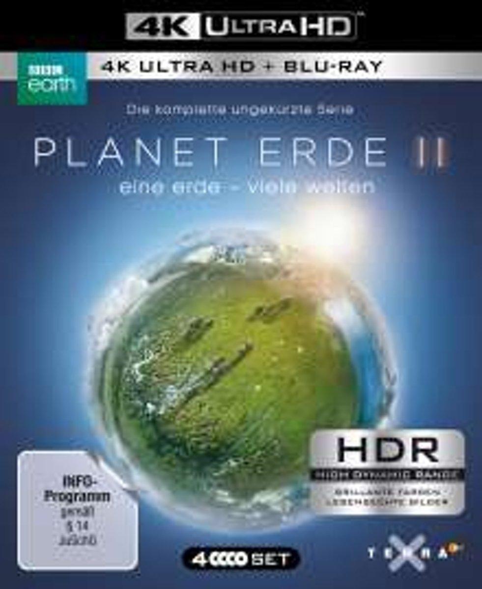 PLANET ERDE II: eine erde - viele welten. 4K ULTRA HD-