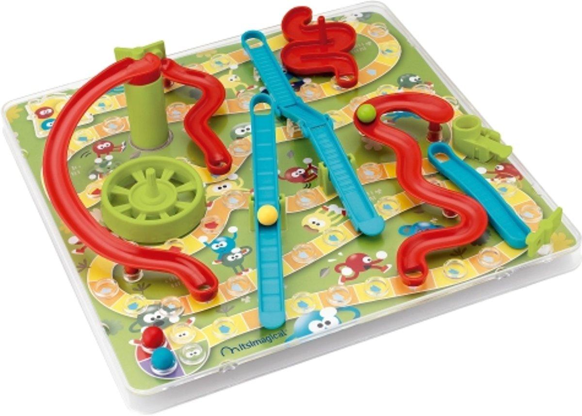 Imaginarium 3D SNAKES RACE - Slangen en Ladders in 3D - Actiespel