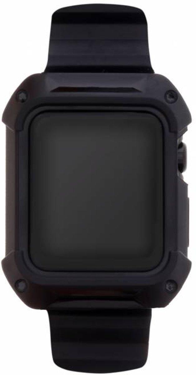 Zwarte Armour band voor de Apple Watch 38 mm kopen