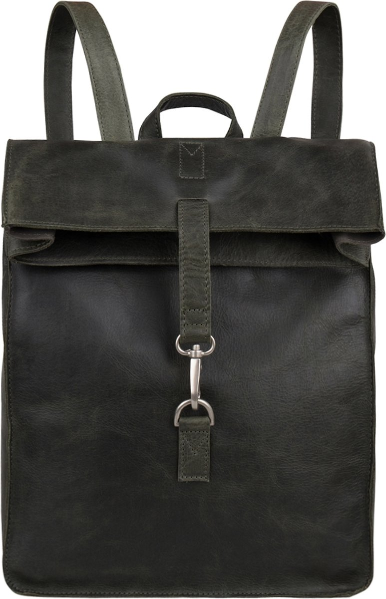 4ad37b2d257 ... Cowboysbag Backpack Doral 15 inch - Dark Green - Cowboysbag ...