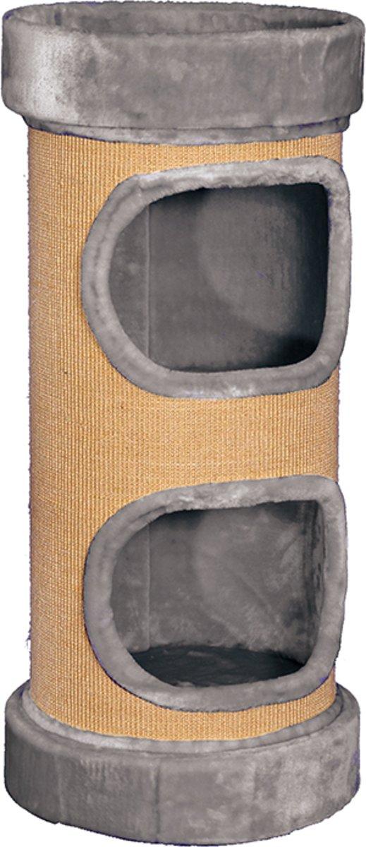 Nobby Krabton Lazy - Kat - Grijs - 45 x 100 cm
