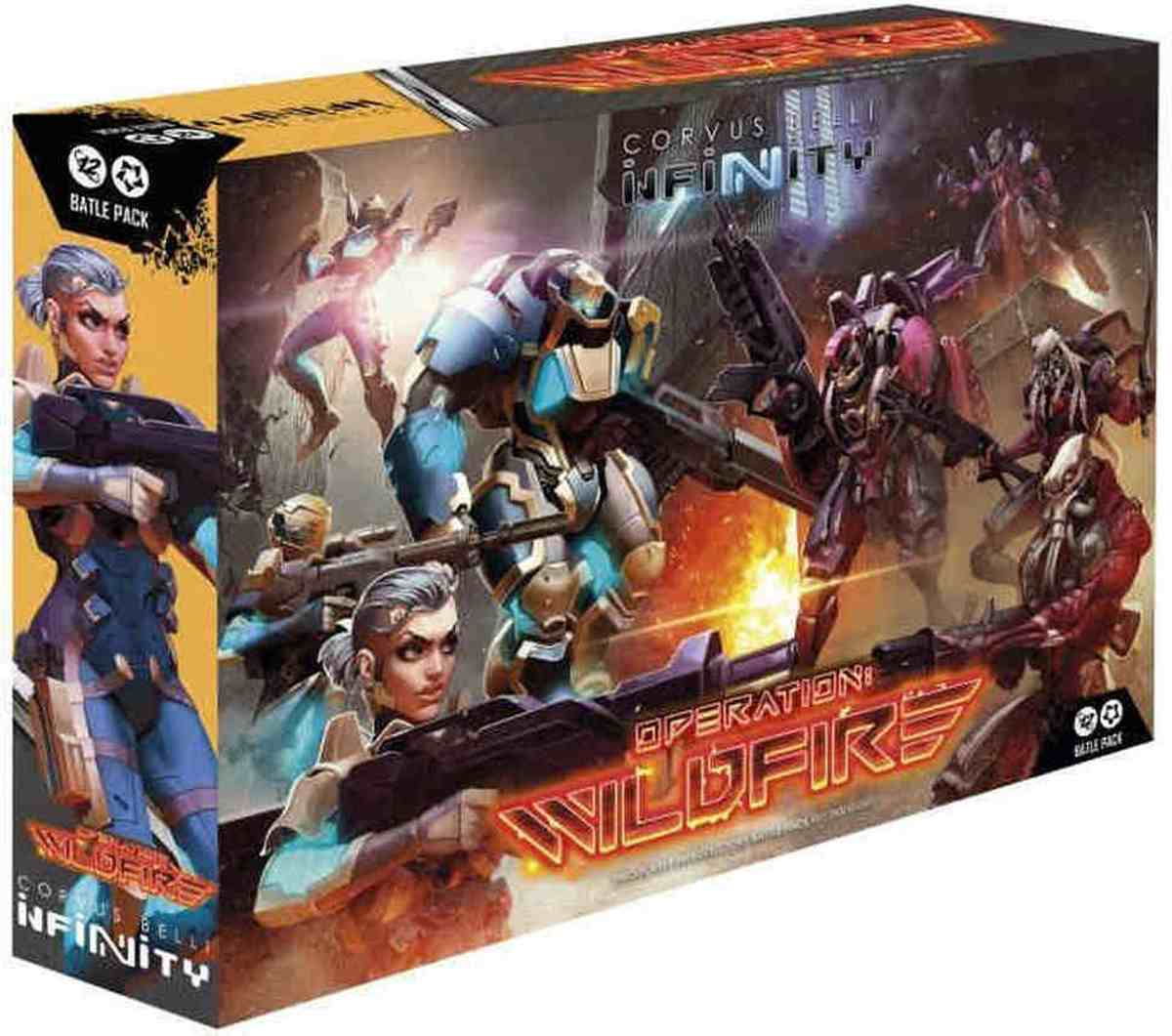 Infinity Operation Wildfire (Starter Set)