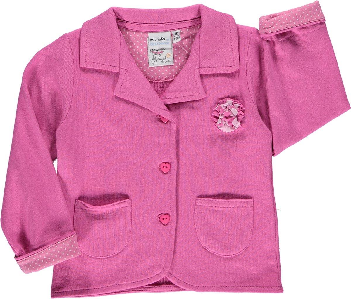 Blue Seven babykleding - Jasje Sweat Roze - Maat 74