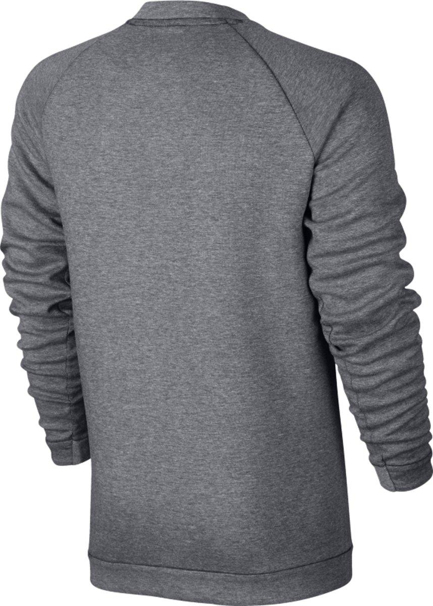 6ebb5fd9978 bol.com | Nike Sportswear Tech Fleece Crew LS Sporttrui Heren - Carbon  Heather/(Black)