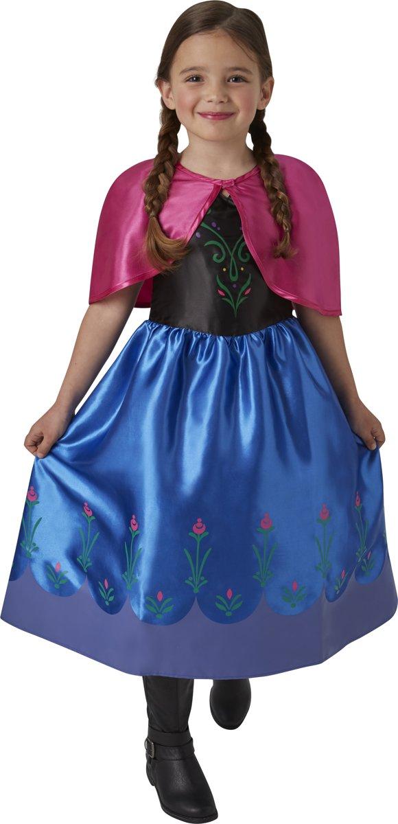 dabc48fcb3430a Disney Frozen Anna Classic Jurk - Kostuum Kind - Maat 98 104 ...