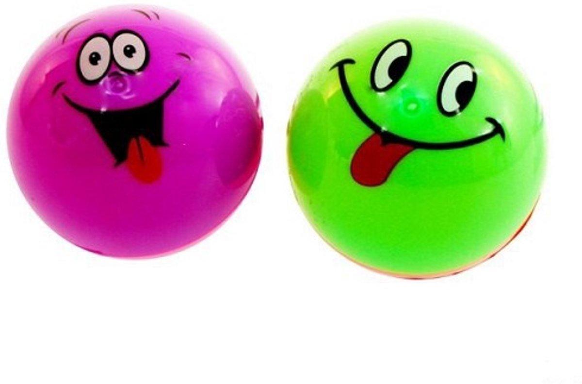 Stuiterbal Met Licht : Bol stuiterbal met gezicht en licht ds st speelgoed