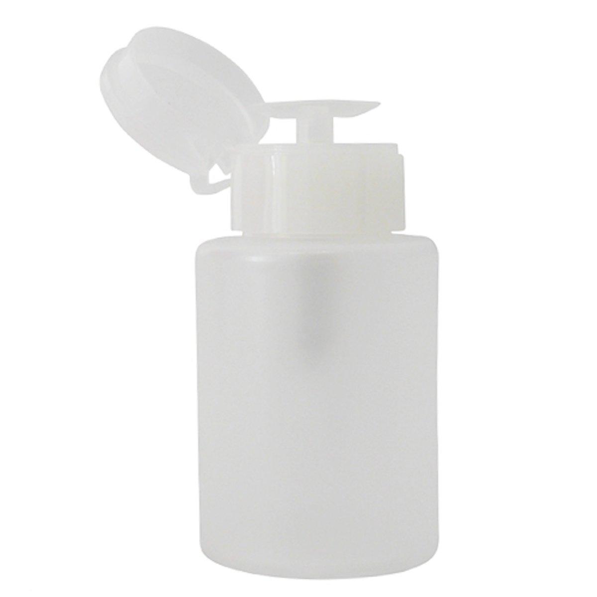 Veronica NAIL-PRODUCTS Vloeistof pompje M, wit 150 ml voor nagelstyliste vloeistoffen, zoals nagellakremover, gel cleaner, desinfectie alcohol, acryl monomeer vloeistof. kopen