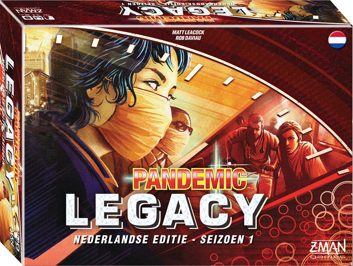 Pandemic Legacy Red - Bordspel