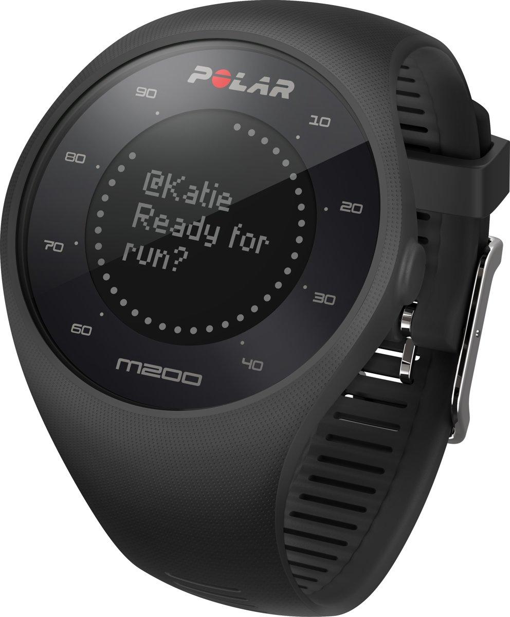 7187a548b87 bol.com   Polar M200 - Hardloophorloge - GPS - Zwart - Medium/Large