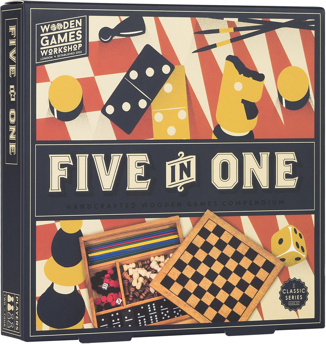 Five in One - Spellenset