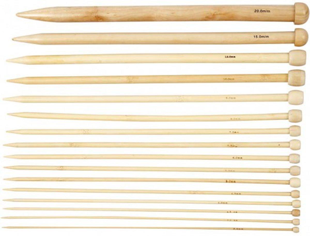 Breinaalden, l: 35 cm, 2,5-20, 16 paar kopen