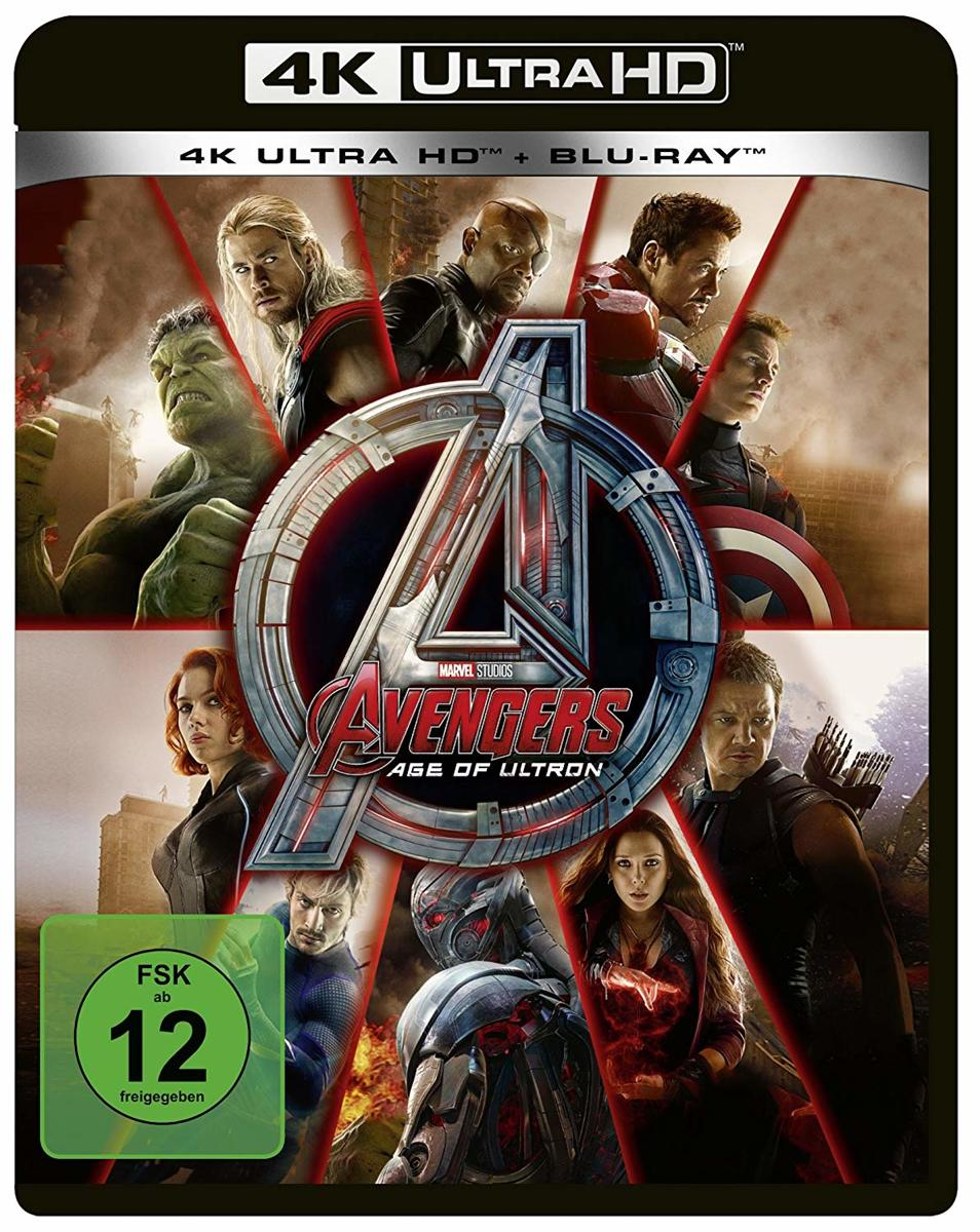 Avengers: Age of Ultron (4K Ultra HD Blu-ray & Blu-ray) (Import)-
