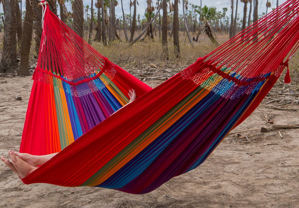 Hangmat XL Rainbow kleur #1