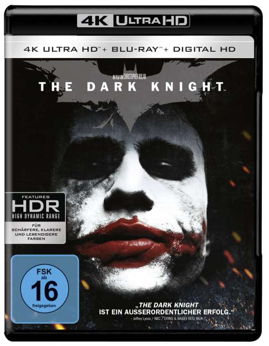 The Dark Knight (Ultra HD 4k Blu-ray) (Import)-