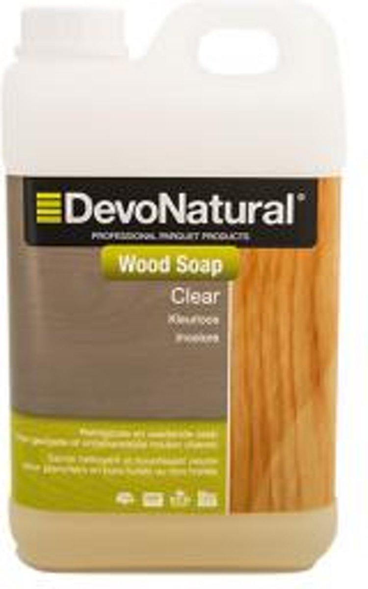 DevoNatural Wood Soap Clear / Houtzeep - 2 liter kopen