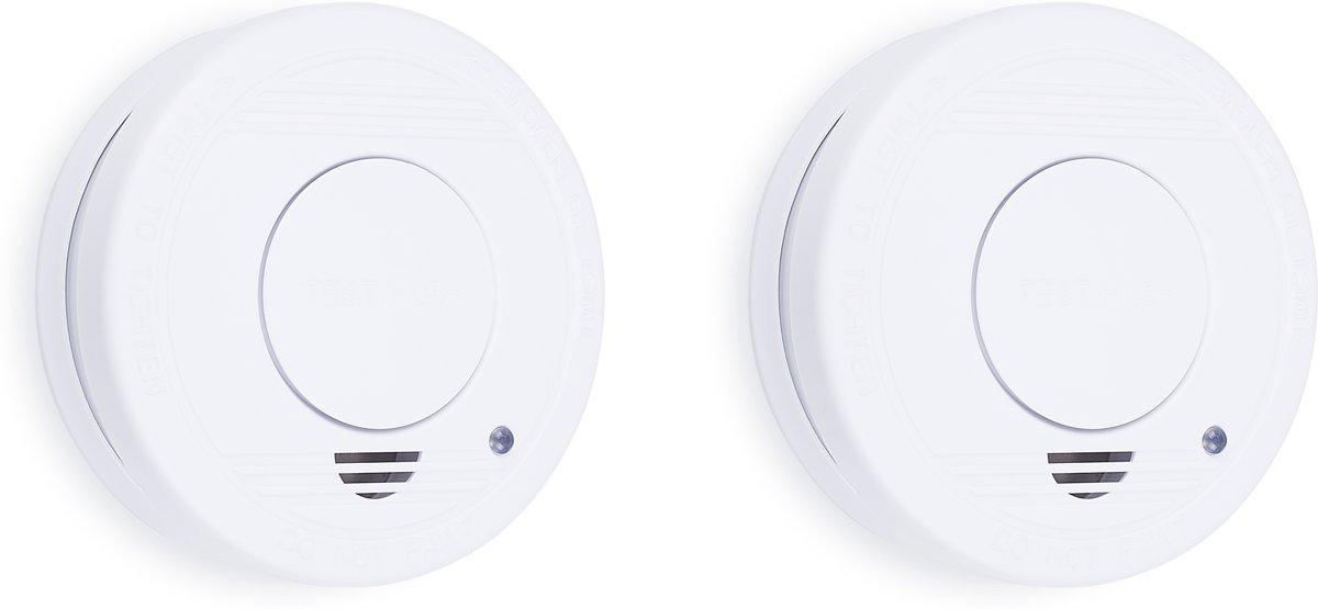 Smartwares RM250 Rookmelder - 2-pack - Inclusief batterij - Testknop - Pauzeknop - 85 dB kopen