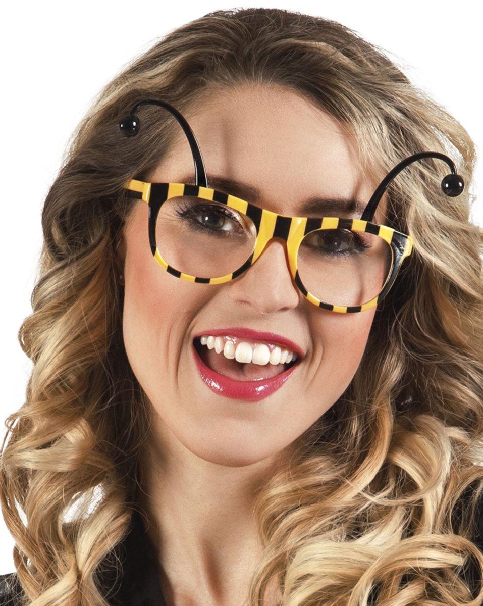 Bijen bril voor volwassen - Verkleedattribuut kopen