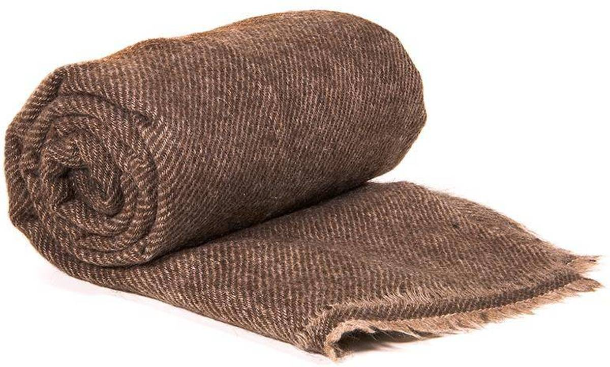 Yogi & Yogini naturals Sjaal van yak wol (200x70 cm) kopen