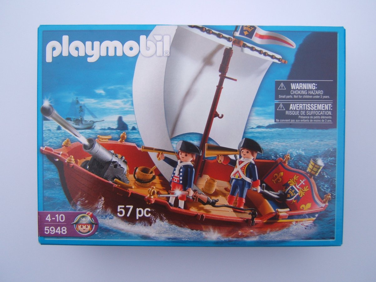 Playmobil Soldatenboot 5948