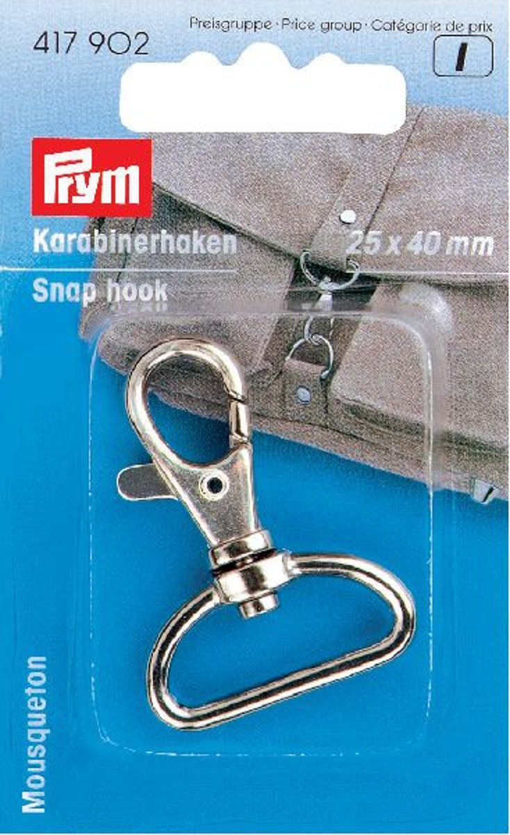 Prym Karabijnhaken 25/40mm