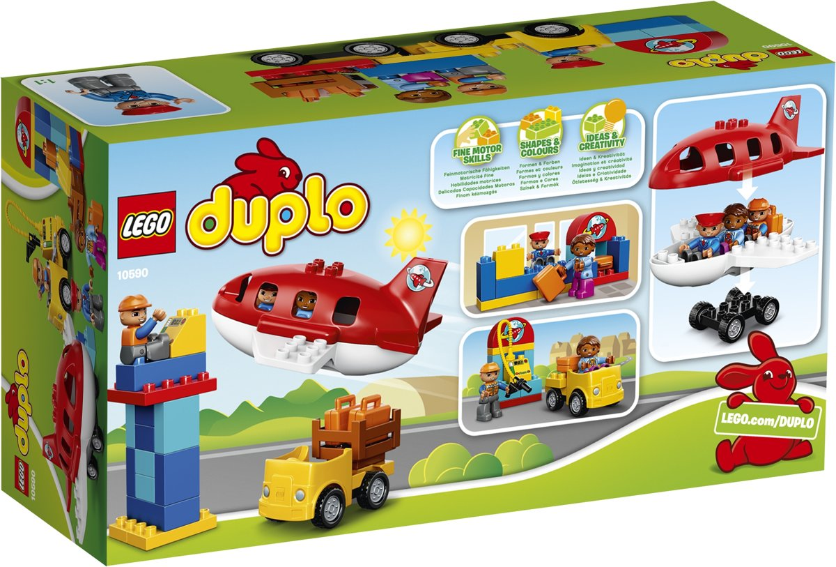 Bolcom Lego Duplo Vliegveld 10590 Lego Speelgoed