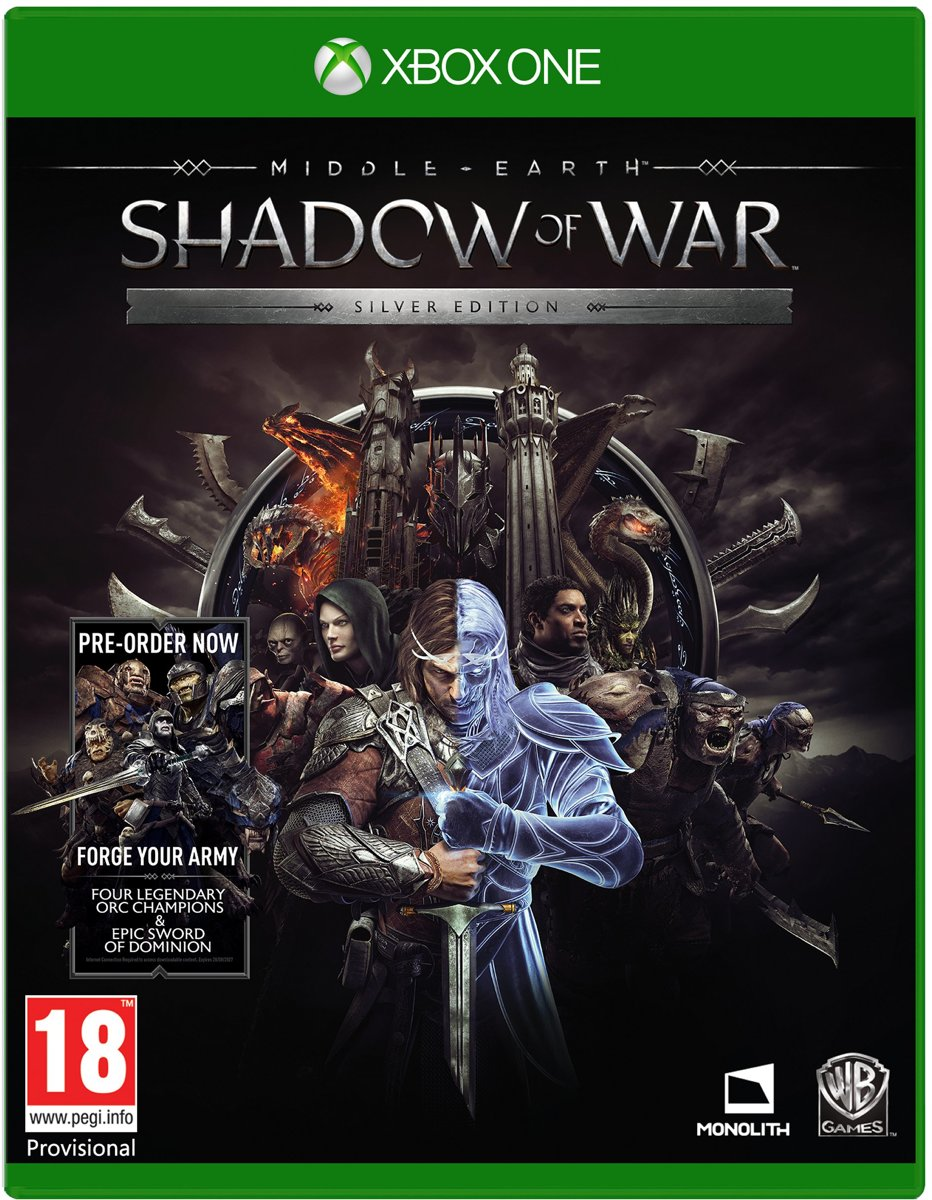 Middle-Earth: Shadow Of War - Silver Edition Xbox One