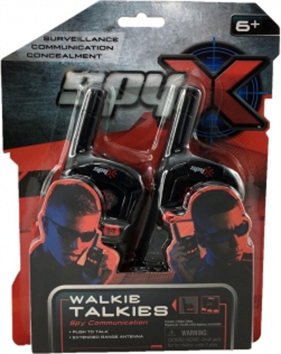 SpyX - Spionnenset Walkie Talkie