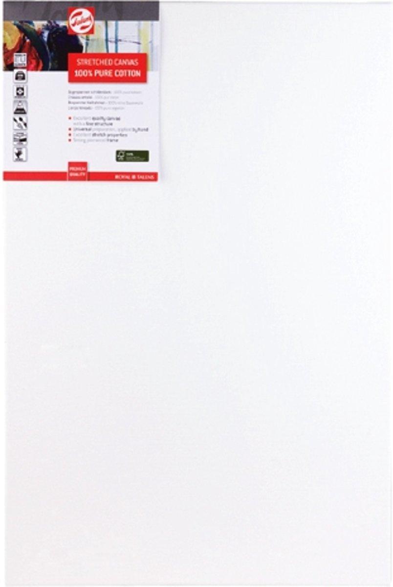 Talens spieraam wit 50x70cm - 100% katoenen doek - FSC mix kopen
