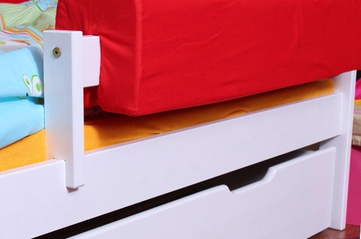 Uitgelezene bol.com | Peuterbed Robin 70x160 cm met opberglade op wieltjes OG-14