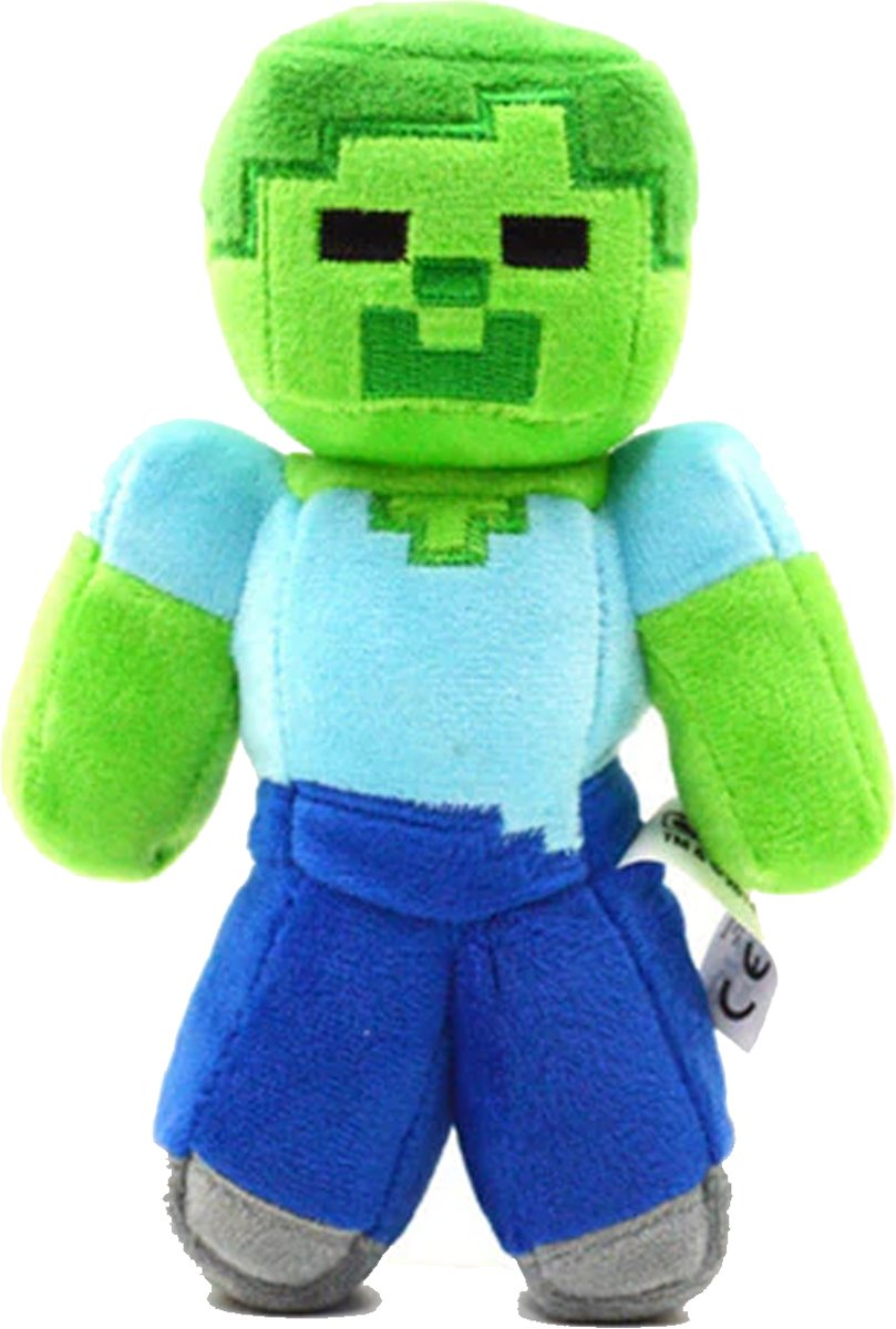 Minecraft Zombie Pluche Knuffel