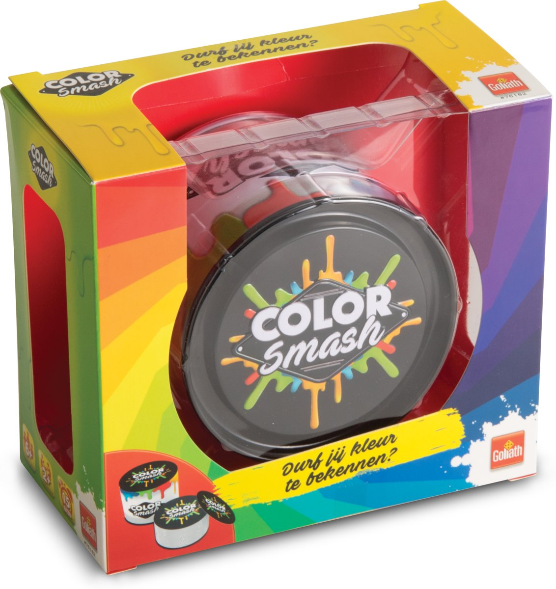 Color Smash - Snel partyspel - Goliath