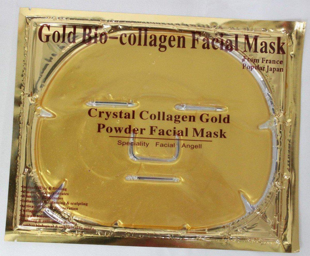 Bol Gold Bio Collagen Gezichtsmasker. Masker Collagen Crystal Mask ...
