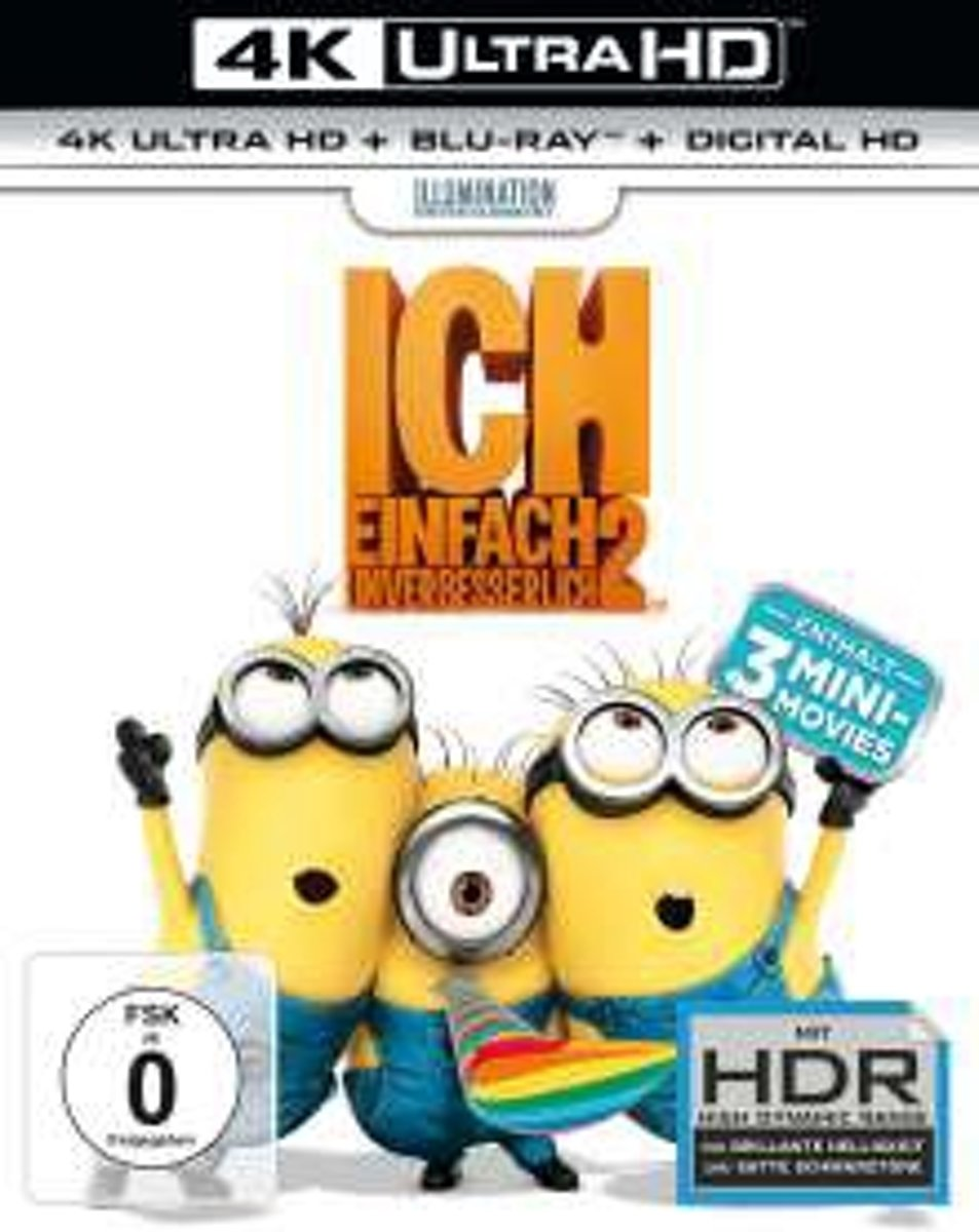 Despicable Me 2 (2013) (Ultra HD Blu-ray & Blu-ray)-