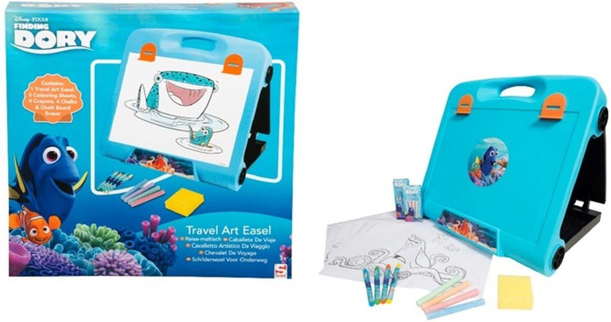 Finding Dory Tekenbord Schildersezel Reismodel voor in de Auto – 35x34x7cm | Tekenen en Kleuren Onderweg | Creatief voor op Vakantie | Schilderen kopen