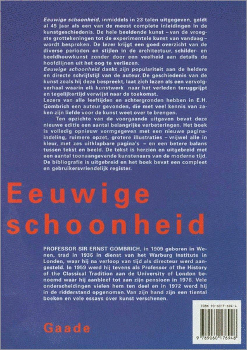 Bolcom Eeuwige Schoonheid Eh Gombrich 9789060176948 Boeken