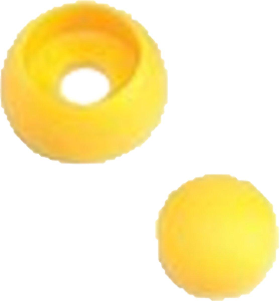 20 stuks. afdekdoppen geel voor speeltoestel bouten, 8/10 mm