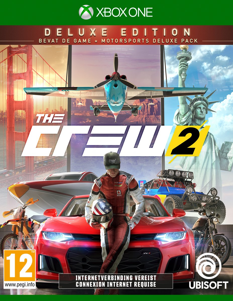 The Crew 2 - Deluxe Editie Xbox One