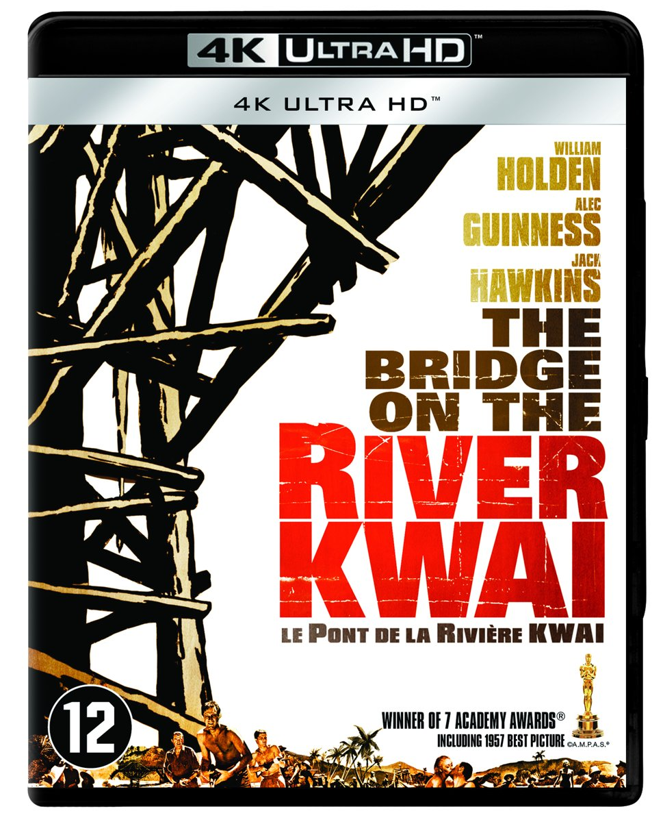 The Bridge On The River Kwai  (4K Ultra HD Blu-ray)-