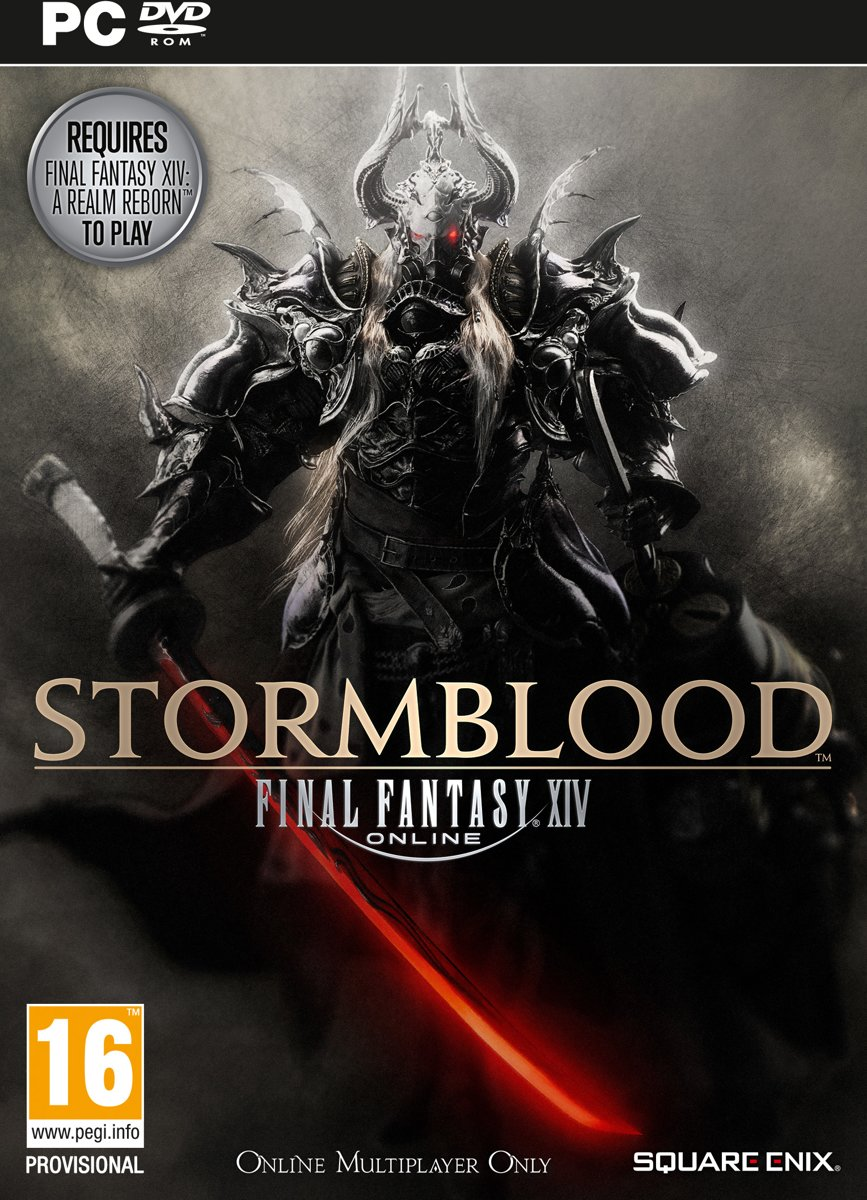 Final Fantasy XIV Stormblood PlayStation 4