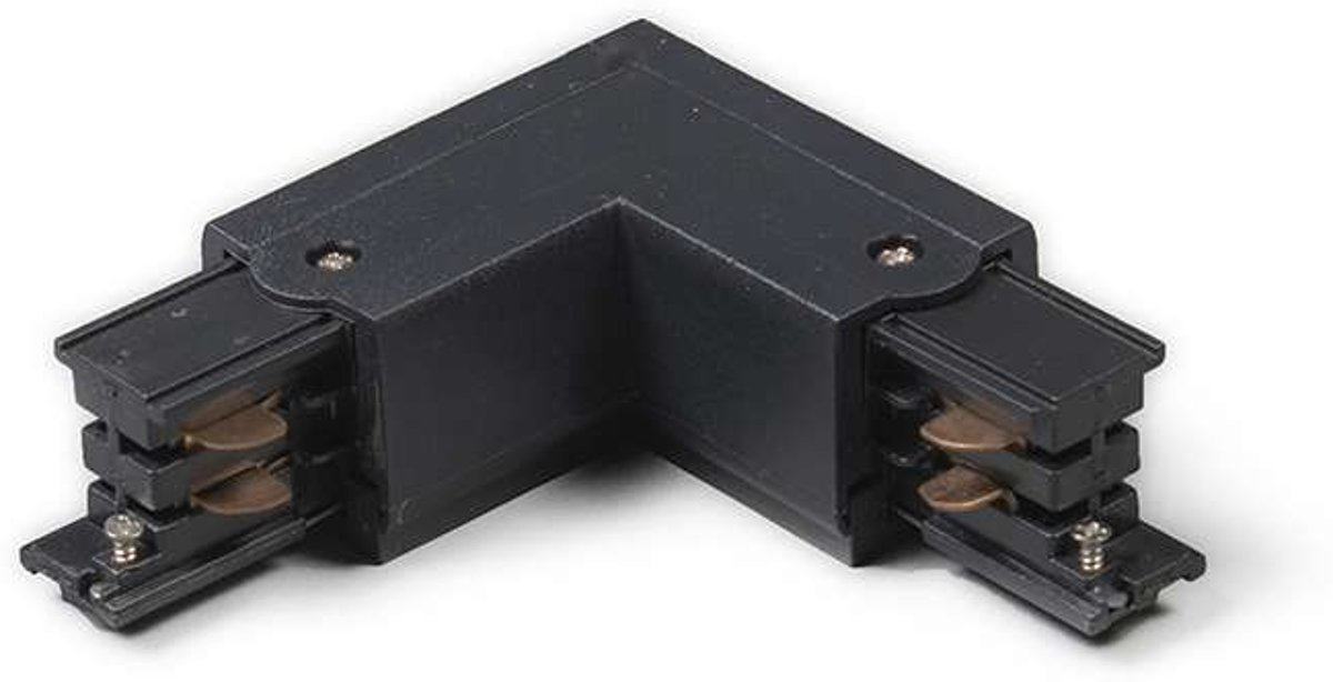 QAZQA LL - 3-fase railsysteem connector -  Lichts - 6,8 cm - zwart kopen