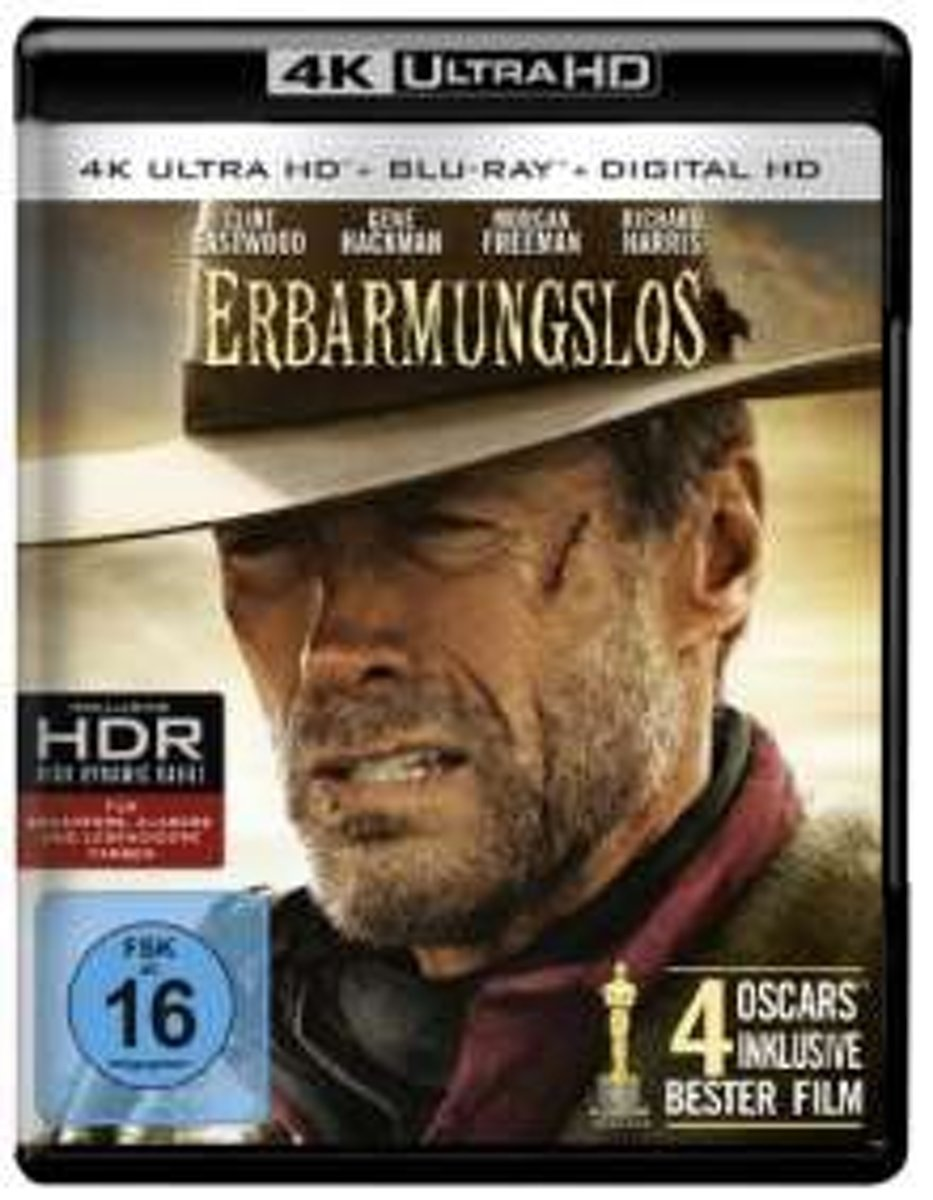 Unforgiven (1992) (Ultra HD Blu-ray & Blu-ray)-