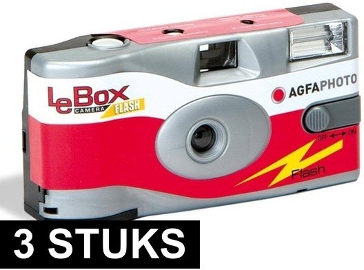 3x wegwerp cameras met flitser kopen