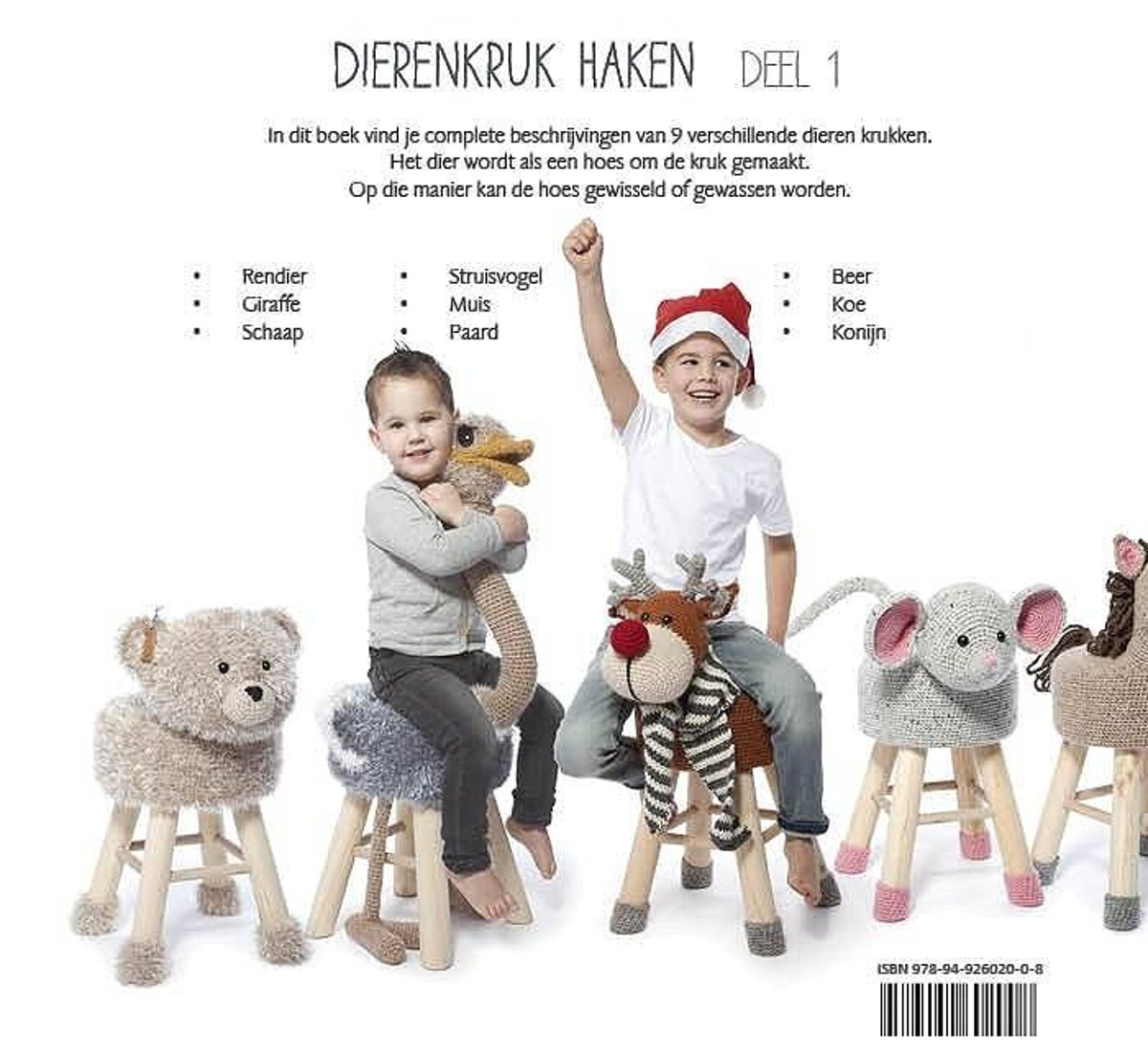 Bolcom Dierenkruk Haken Deel 1 Haakpret Speelgoed