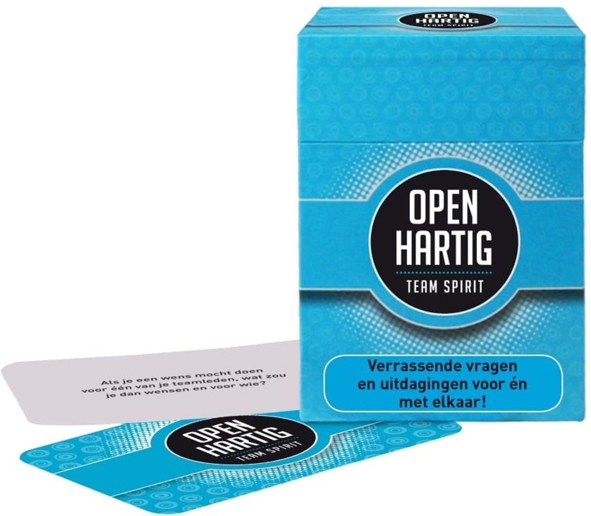 Populair bol.com   Openhartig Team Spirit - Kaartspel, Open Up!   Speelgoed #DU11