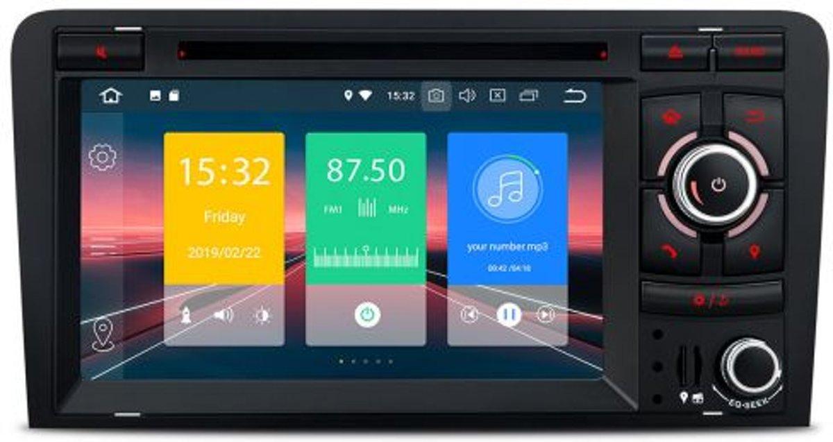 Audi A3 Mmi 7 inch Carplay Android auto navigatie met bluetooth kopen