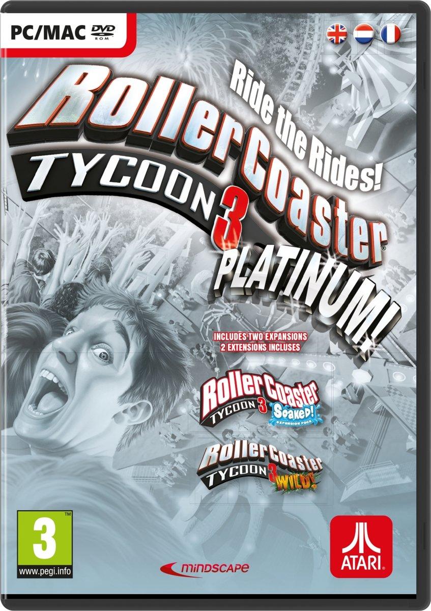 RollerCoaster Tycoon 3: Platinum - Windows / Mac download