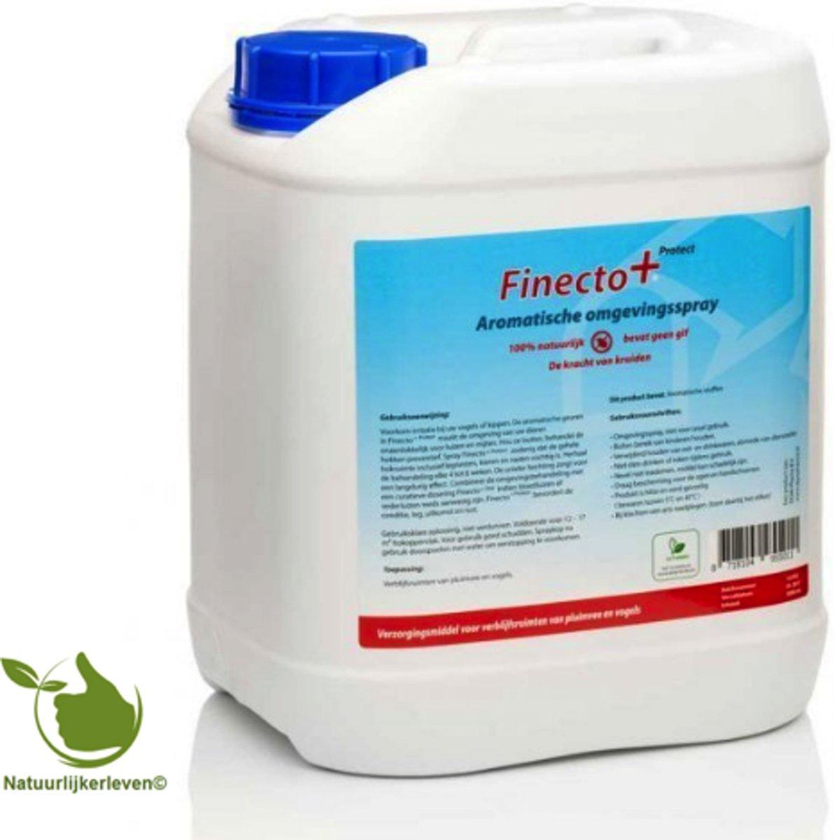 Finecto+ 5 liter omgevingspray tegen bloedluis